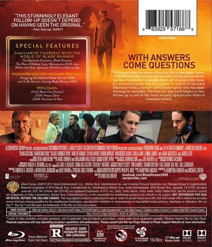 Blade Runner Movie Blade Runner 2049 Randysrecords