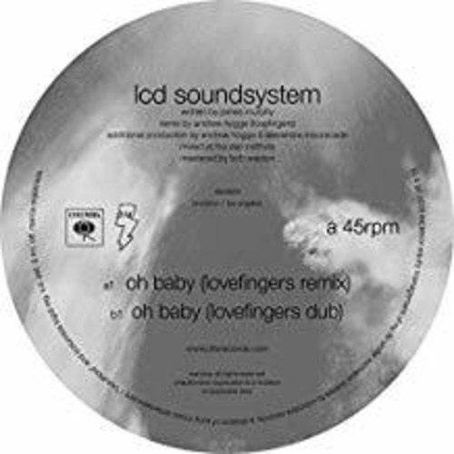 LCD Soundsystem - Oh Baby (Lovefingers Remixes) [Vinyl Single]