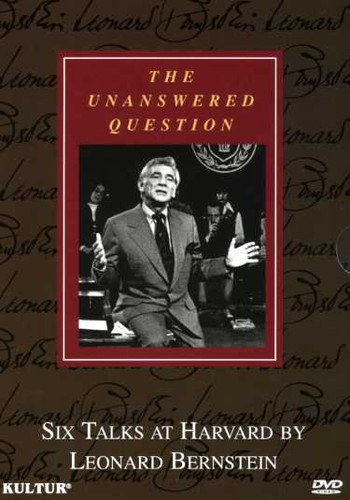 The Unanswered Question: Six Talks at Harvard by Leonard Bernstein: Boxed Set