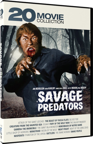 Savage Predators: 20 Movie Collection