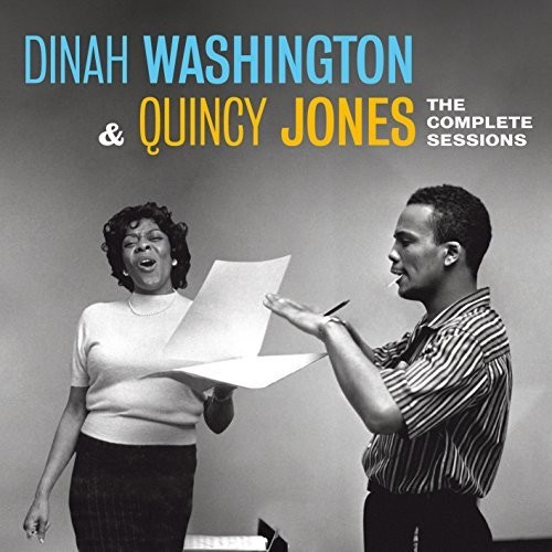 Dinah Washington / Jones,Quincy - Complete Sessions (W/Book) (Rmst) (Spa)