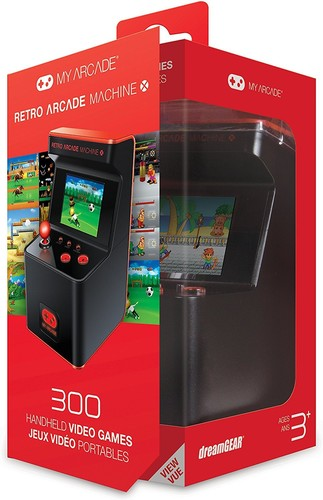 - My Arcade Retro Arcade Machine X: Portable Gaming Mini Arcade Cabinet