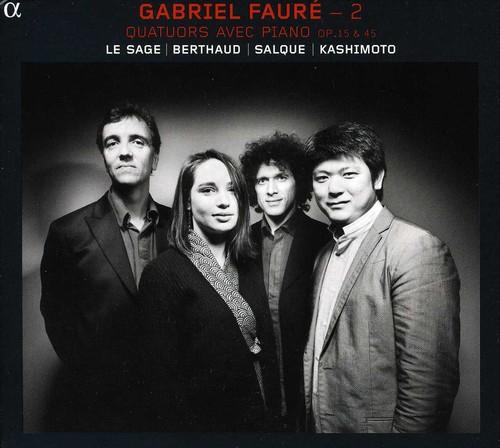 2 Piano Quartets Op. 15 & 45
