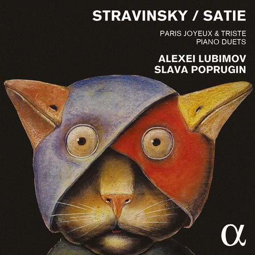 Stravinsky & Satie: Paris Joyeux & Triste - Piano