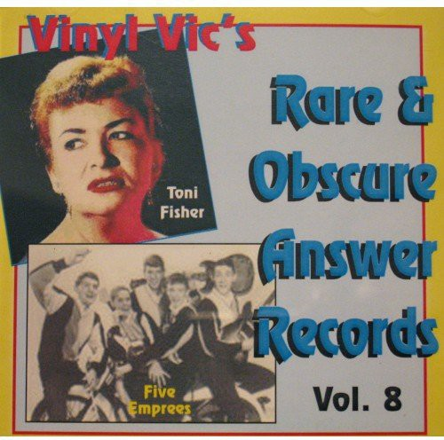 Vinyl Vic's Number 08 Rare Answer