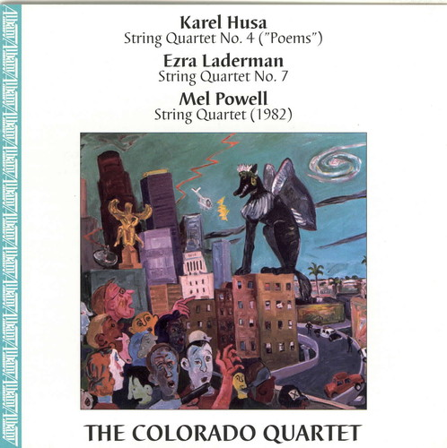 Quartets By Husa, Laderman & Powell