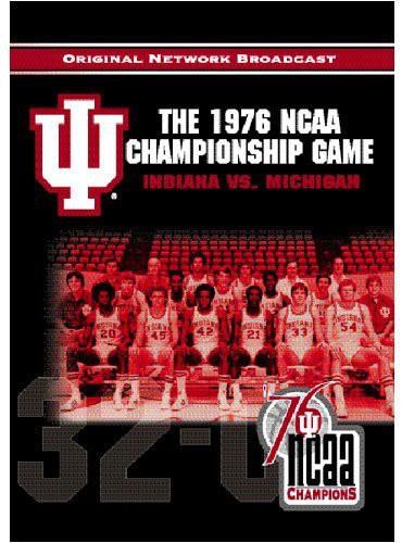 76 NCAA Indiana Vs Mi Championship