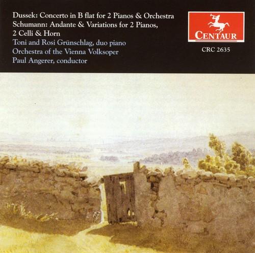 Concerto for 2 Pianos & Orch /  Andante & Variation