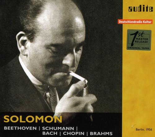 Solomon Plays Beethoven Schumann Bach & Brahms