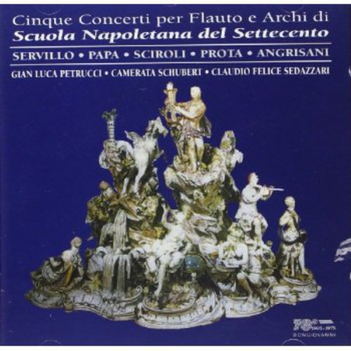5 Concertos for Flute & Strings