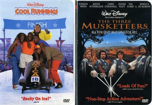 Cool Runnings & Three Musketeers (1993)