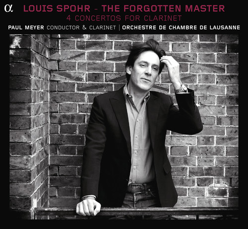 Forgotten Master: 4 Concertos for Clarinet