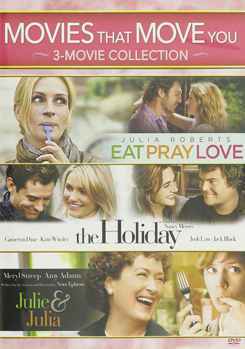 Movies That Move You: Julie & Julia /  The Holiday /  Eat Pray Love
