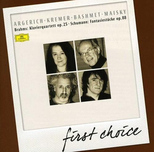 First Choice: Piano Quartet Op 25 No 1 Schumann