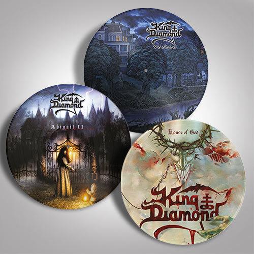 King Diamond Lp Bundle Set 3