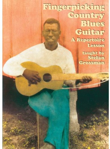Fingerpicking Country Blues Guitar a Repertoire Lesson