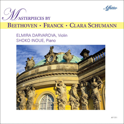 Masterpieces by Beethoven Franck & Clara Schumann