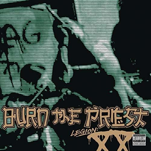 Burn The Priest - Legion: XX [Coke Bottle Color With White And Black Smoke Vinyl LP]