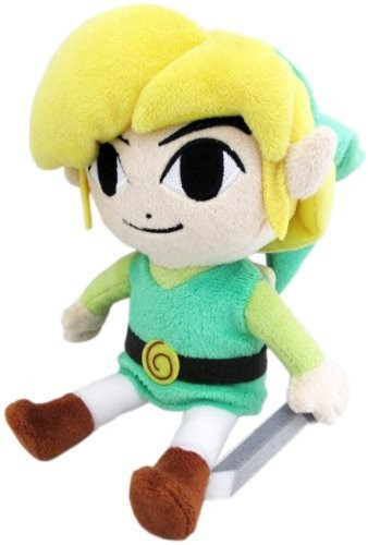"- Little Buddy The Legend of Zelda Link 12"" Plush"