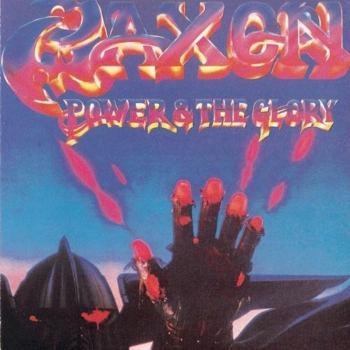 Saxon - Power & The Glory: Remastered [Limited Edition Blue & Purple Swirl LP]