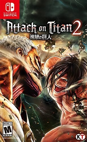 Swi Attack on Titan 2 - Attack on Titan 2 for Nintendo Switch
