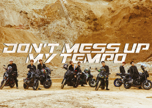 Exo - EXO The 5th Album 'DON'T MESS UP MY TEMPO' (Moderato Ver.) [Import]