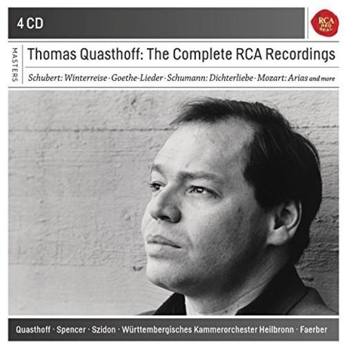 Mozart / Schubert / Schumann - Complete Rca Recordings (4pk)