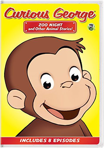 Curious George: Zoo Night & Other Animal Stories