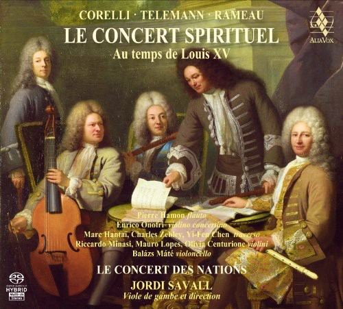 Concert Spirituel: Music from Time of Louis XV