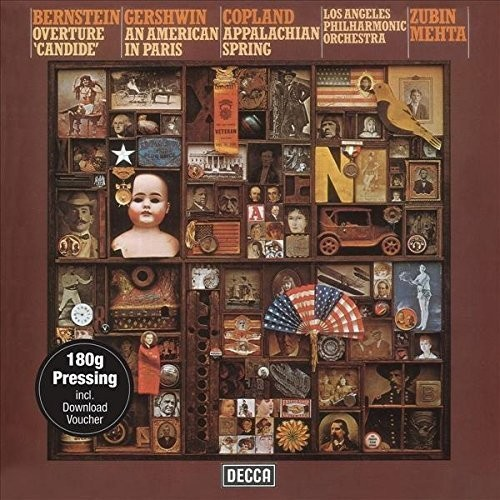 Mehta Conducts Bernstein Gershwin & Copland