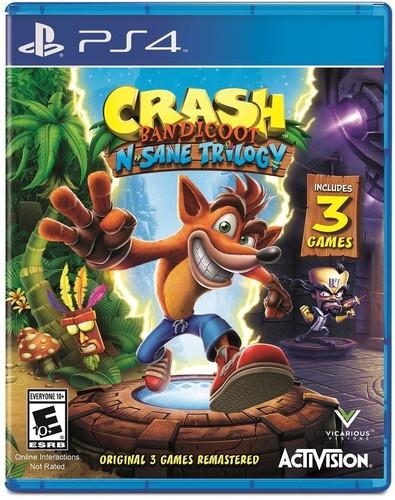 Ps4 Crash Bandicoot N.Sane Tril Goty Activi - Crash Bandicoot N. Sane Trilogy for PlayStation 4
