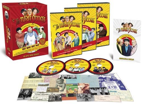 The Three Stooges: Hey Moe! Hey Dad! Volumes 1, 2 and 3