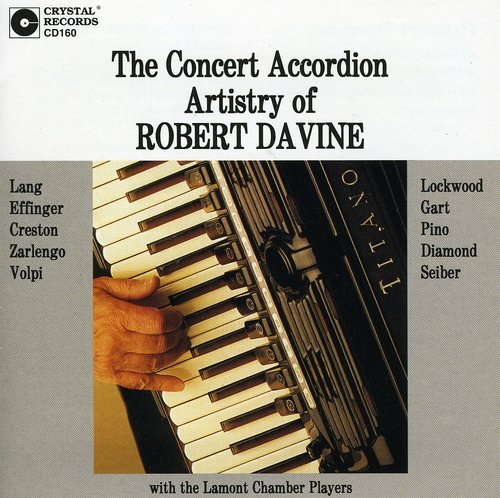 Concert Accordion Artistry of Robert Davine