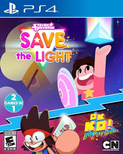 Stephen Universe: Save the Light & Ok K.O.! Let's - Stephen Universe: Save The Light & Ok K.O.! Let's