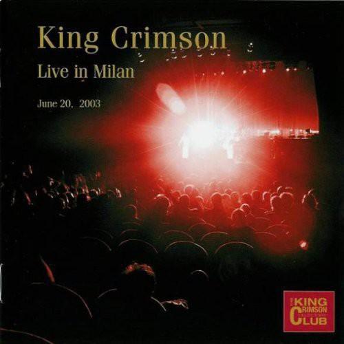 King Crimson Collectors' Club Live in Milan June 2