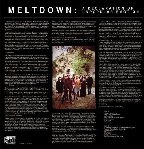 Meltdown /  A Declaration Of Unpopular Emotion