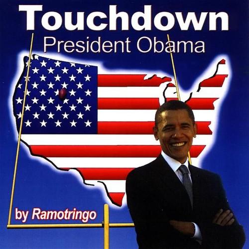 Touchdown President Obama