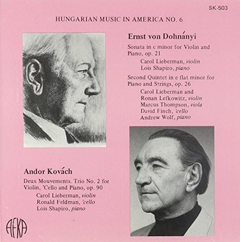 Hungarian Music in Amrica