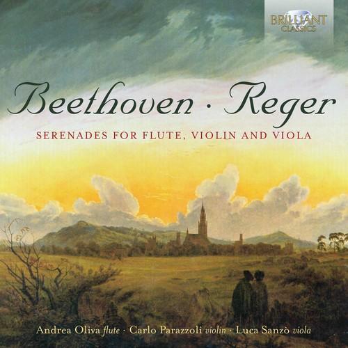 Beethoven & Reger: Serenades for Flute, Violin and Viola