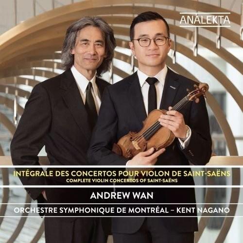 Saint-Saens / Montreal Symphony Orchestra / Nagano - Complete Violin Concertos
