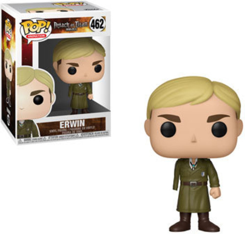 - FUNKO POP! ANIMATION: Attack on Titan Season 3 - Erwin (One-Armed)