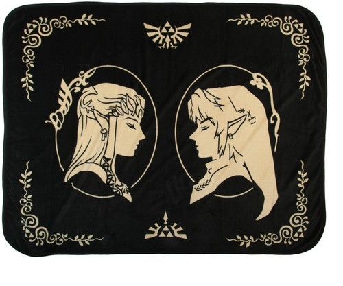 Nintendo Legend of Zelda Fleece Throw - Nintendo Legend Of Zelda Fleece Throw