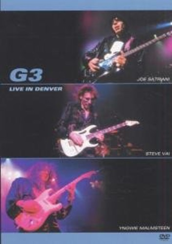 G3 Live in Denver [Import]