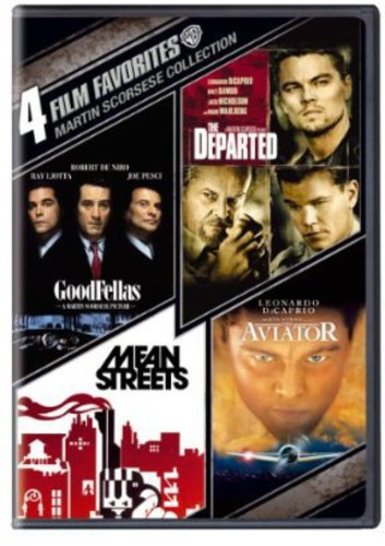 4 Film Favorites: Martin Scorsese Collection