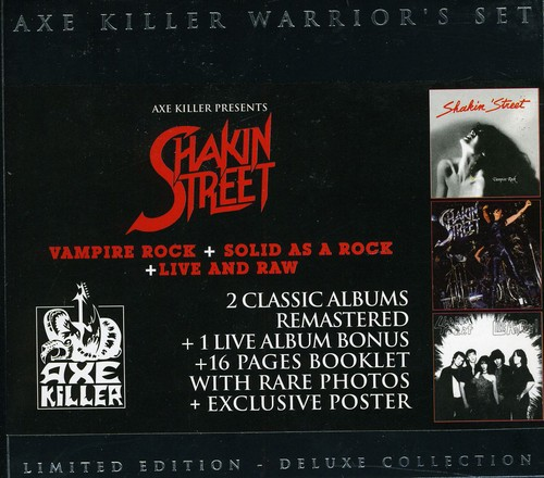 Vampire Rock /  Solid As /  Live Raw [Import]