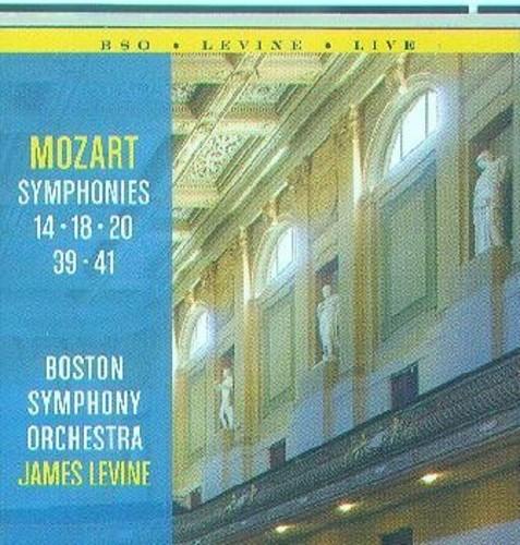 Mozart: Symphonies 14, 18, 20, 39, 41