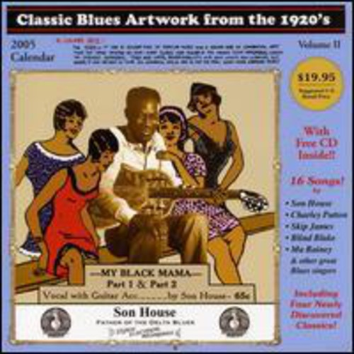 Classic Blues Artwork from the 1920's /  Various