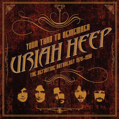 Uriah Heep - Your Turn to Remember: The Definitive Anthology 1970-1990 [LP]
