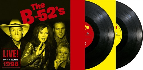 The B-52's - Live! Rock 'n Rockets 1998 (Blk) (Ofgv)