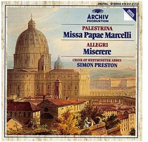 Originals: Palestrina Missa Papae Marcelli